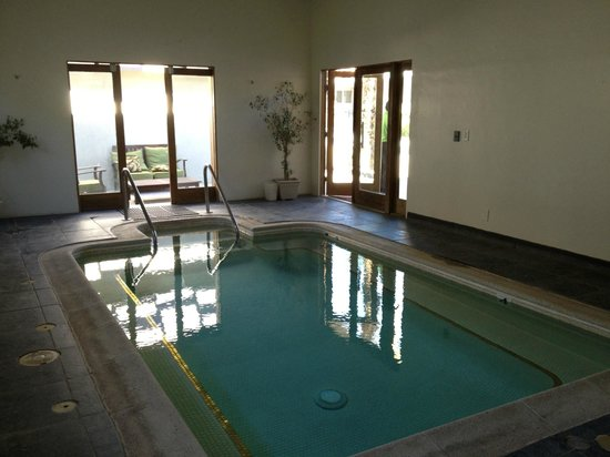 Lido Palms Resort and Spa:                   indoor mineral pool