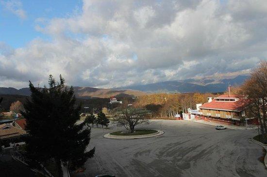 Hotel Amorocchi: panorama di novembre dalla camera 2