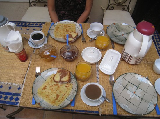 Riad Jakoura:                   Great breakfast