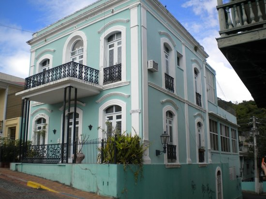Gorgeous architecture of San German, Puerto Rico.