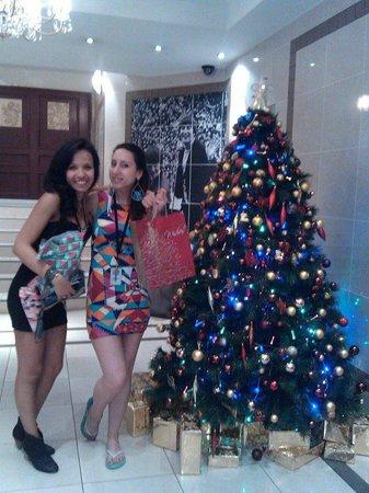 Christmas 2012 Hotel St George Foyer Tree