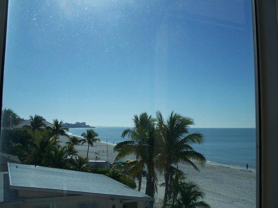 Cornerstone Beach Resort :                   View to the south. Kitchen window room 201