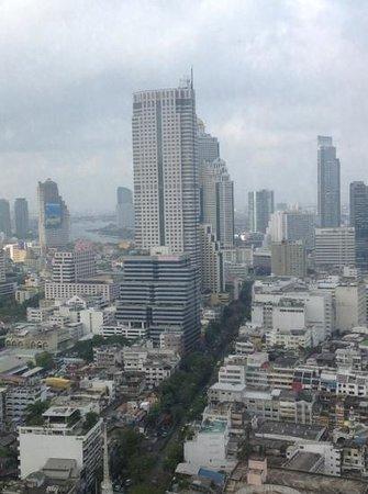 Pullman Bangkok Hotel G: view, suite 3405