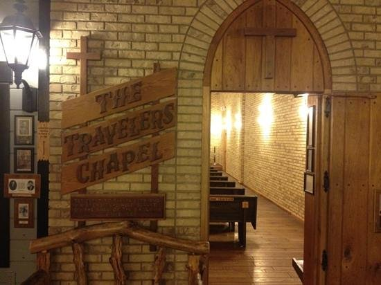 Wall Drug Store Cafe:                   the chapel