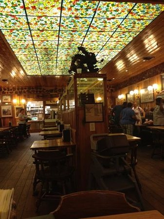 Wall Drug Store Cafe:                   cowboy dining room
