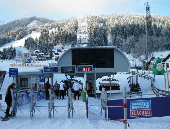 Funsport-, Bike- & Skihotelanlage Tauernhof : The Star Jet lift