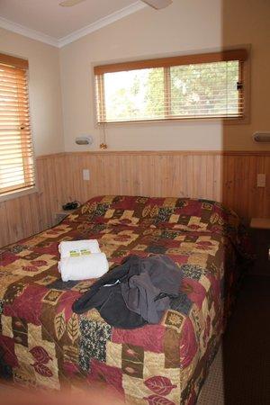 Secura Lifestyle Happy Hallidays:                   2 Bed Deluxe Cabin - Main bedroom