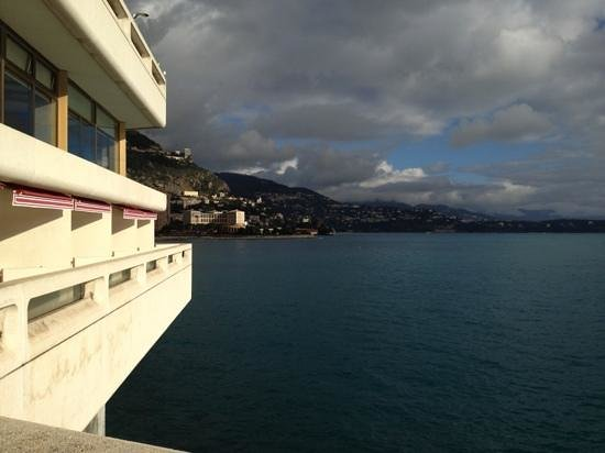 Fairmont Monte Carlo:                   patio view from room