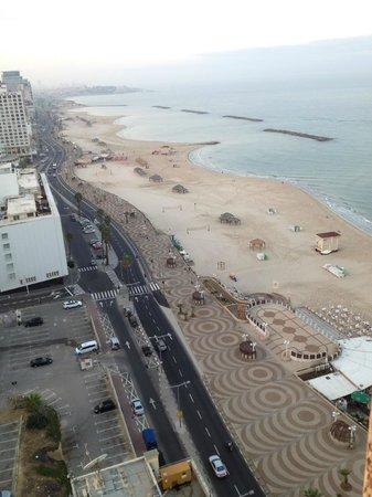 Sheraton Tel Aviv Hotel: seaview