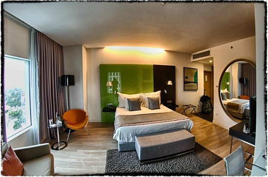 Crowne Plaza Tel Aviv City Center: Bed room