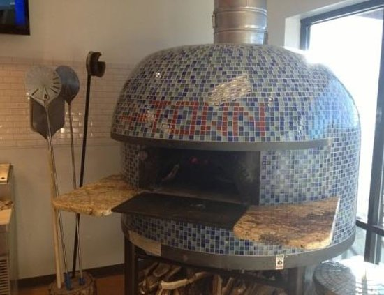 A-Town Pizza :                   The Oven!