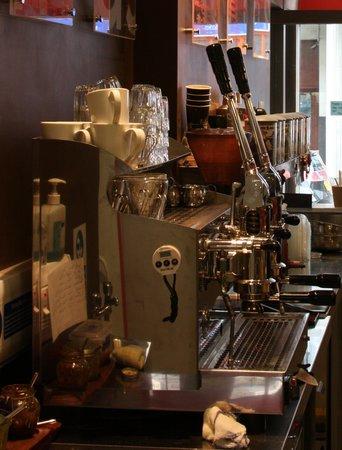 Massaro's:                                     Coffee nerd dream-machine