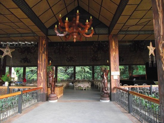 Main dining area picture of villa escudero resort san Villa escudero room pictures