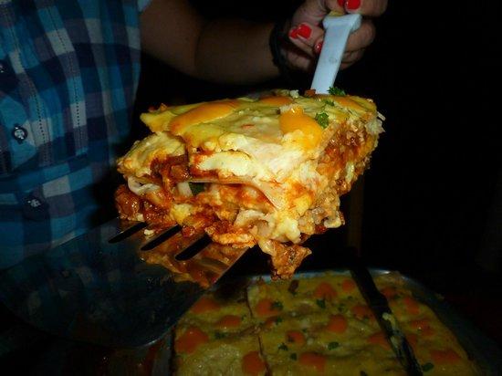 Santa Catalina Los Tecales: lasagna
