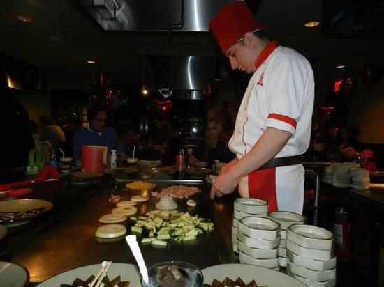 Benihana: Cook