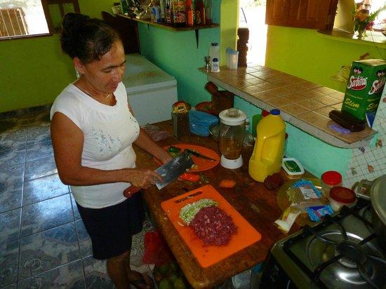 Santa Catalina Los Tecales: cocina con julia