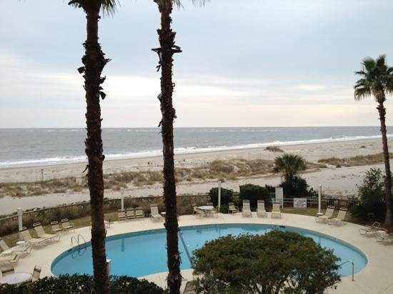 Wild Dunes Resort:                   Wild Dunes beach in January