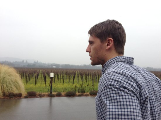 Quivira Vineyards:                                     Rainy day, but an excellent experience