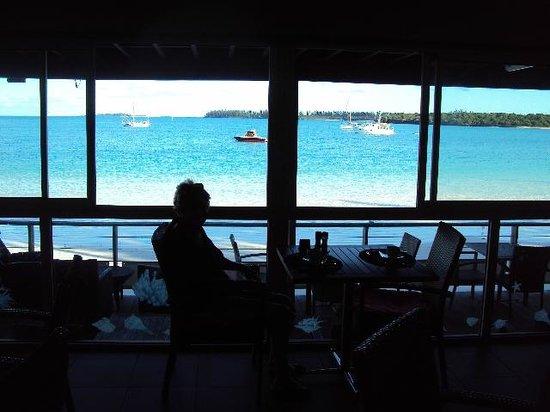 Hotel Kou-Bugny:                   Restaurant view