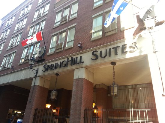 SpringHill Suites by Marriott Old Montreal:                                     Springhill Suites Old Montreal