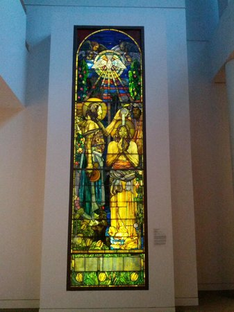 Baltimore Museum of Art: The Baptism of Christ by Louis Comfort Tiffany