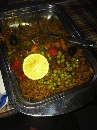Chez Loutcha:                   arroz veneciano