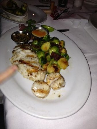Walnut Creek Yacht Club:                   corvina baconified Brussels sprouts
