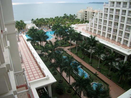 Hotel Riu Palace Pacifico:                   view from 2 bedroom suite 6044