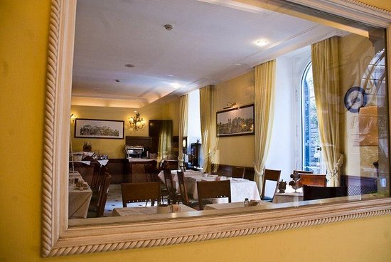 Hotel Ludovisi Palace: Breakfast Room