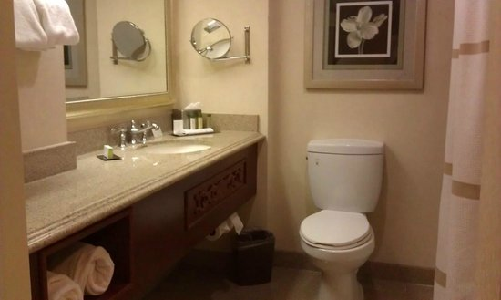 DoubleTree by Hilton Hotel Los Angeles - Norwalk: bathroom