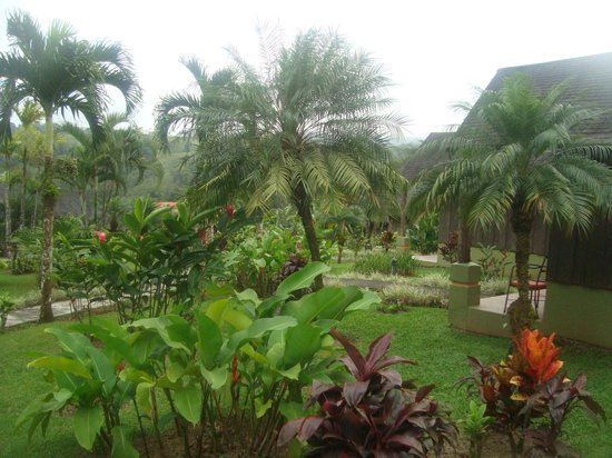 Hotel Lavas Tacotal: bonitos jardines