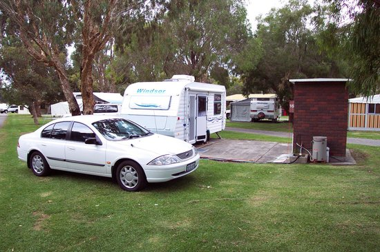 Albany Gardens Holiday Resort:                   Huge ensuite sites