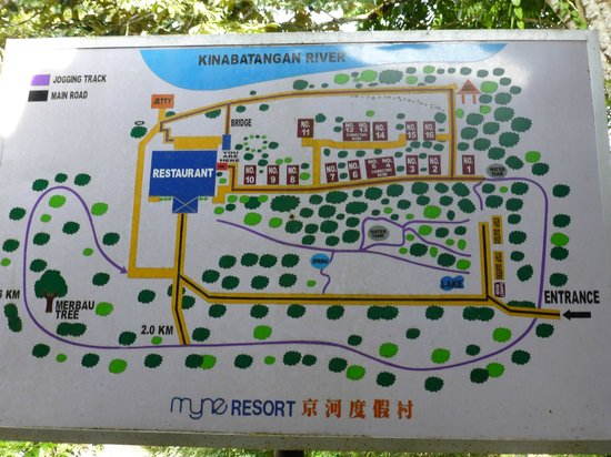 Myne Resort: Map of Resort
