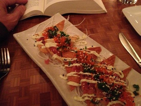 the Kitchen : ahi appetizer