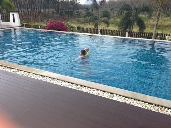 Leelawadee Garden Resort:                                     enjoying pool
