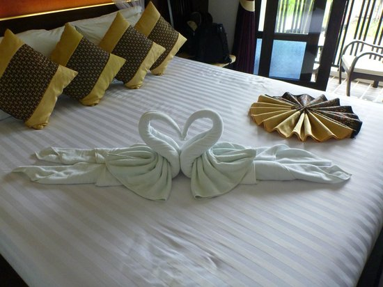 Dee Andaman Hotel:                                     It's a Swan