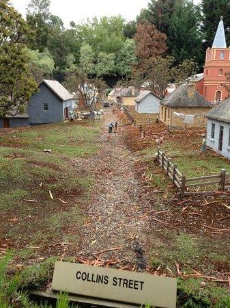 Old Hobart Town Model Village: mini hobart