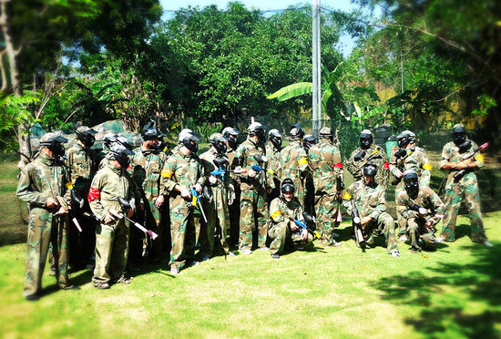 Bali Paintball Arena: Private or company session