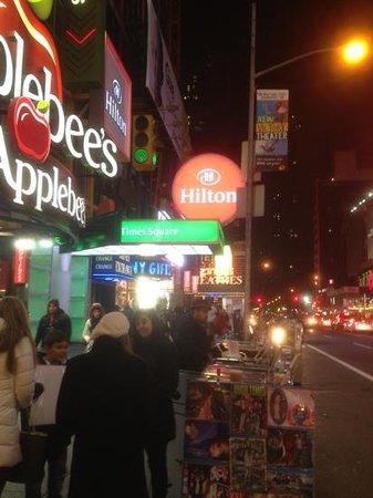 Hilton Times Square:                   Hilton @ Christmas