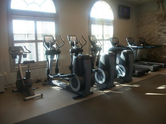 The Westin Savannah Harbor Golf Resort & Spa:                   gym