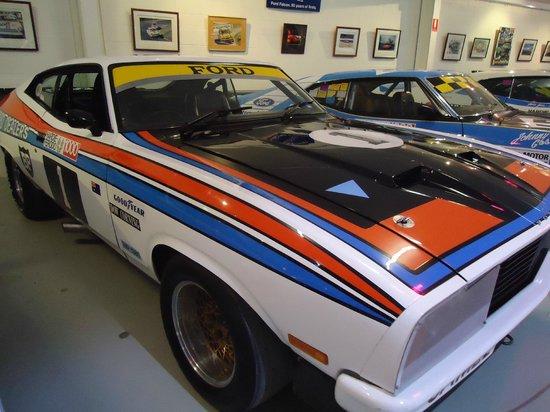 National Motor Racing Museum:                   Colin Bond/Allen Moffat real car