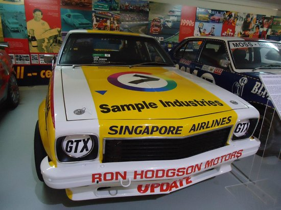 National Motor Racing Museum:                   I think this was the realo car!
