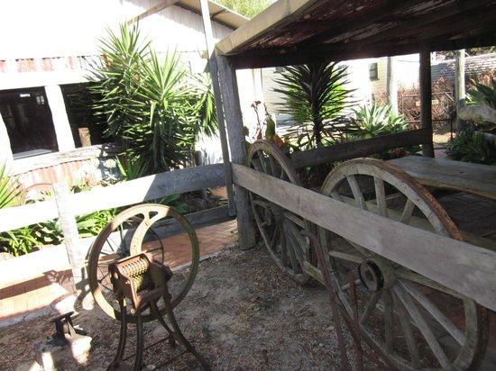 Rudds Pub:                   Garden Area