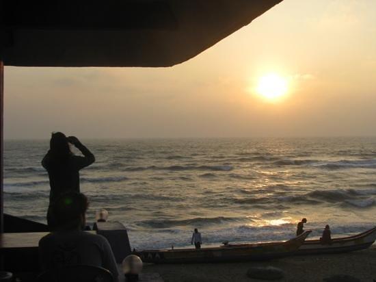 Hotel Santana Beach: Sunrize from the hotel terrace
