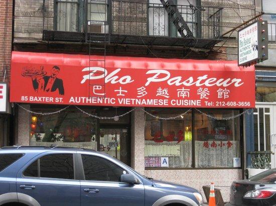 Pho Pasteur: Exterior - Front
