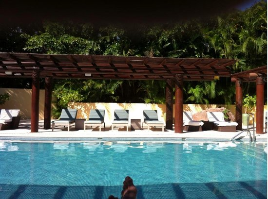 Four Seasons Resort Punta Mita:                   adult pool  area