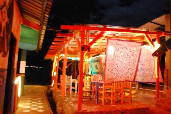 Hostal del Lago:                   Reception area