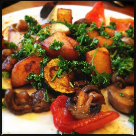 Sok Cafe :                   Картошка с грибами