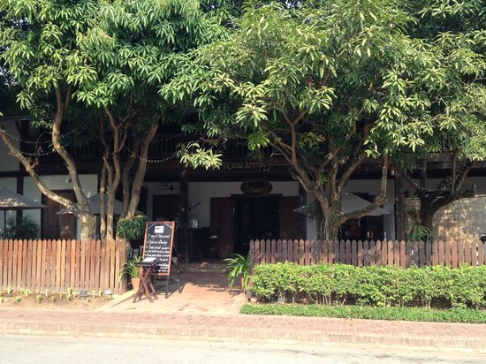 Hotel 3 Nagas Luang Prabang MGallery by Sofitel:                   Outside of 3 Nagas