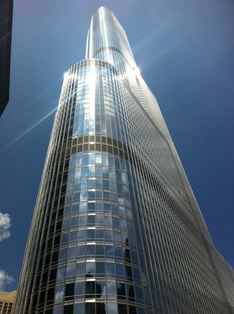 Trump International Hotel & Tower Chicago:                                     pretty hotel